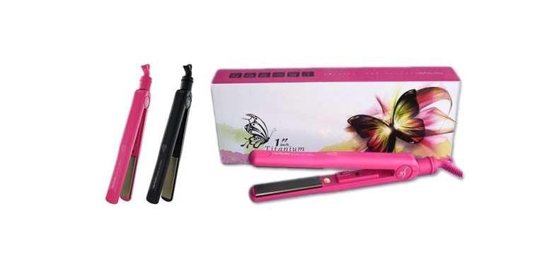 Review Of Herstyler Curling Iron And Herstyler Titanium Hot Pink Professional Straightening How Is User Saying Kucomb